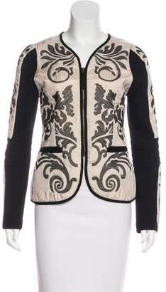 Yoana Baraschi Glam Rock Silk Jacket w/ Tags