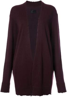 RtA long Serge cardigan