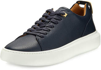 Buscemi Men's 50mm Leather Low-Top Sneakers