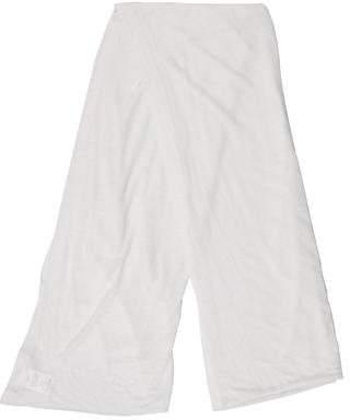 Michael Kors Semi-Sheer Linen-Blend Scarf