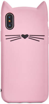 Kate Spade Silicone Cat iPhone X Case