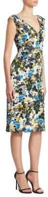 Erdem Jyoti Sleeveless Sheath Dress
