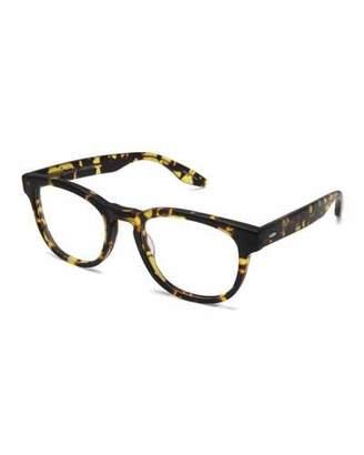 Barton Perreira Men's Byron Universal Fit Square Optical Frames, Matte Heroine Chic $350 thestylecure.com