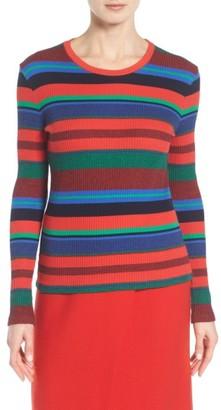 Women's Boss Eriba Stripe Pullover $155 thestylecure.com