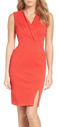 Women's Adrianna Papell Sheath Dress $130 thestylecure.com