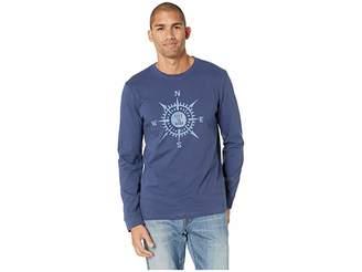 Life is Good LIG Compass Crusher Long Sleeve T-Shirt
