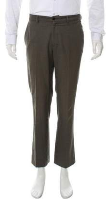 John Varvatos Woven Straight-Leg Pants