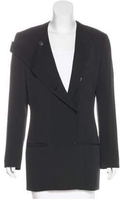 Calvin Klein Collection Wool Button-Up Jacket