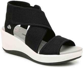 279b0675c322 Clarks Cloudsteppers by Step Cali Palm Wedge Sandal - Women s