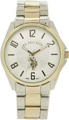 U.S. Polo Assn. USPA Mens Two-Tone Watch