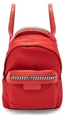 Stella McCartney Falabella Eco Nylon Backpack - Womens - Red