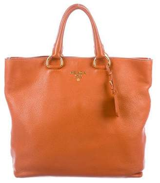 bce18642495c Prada Daino Tote Handbag - ShopStyle
