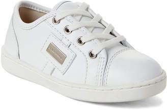 Dolce & Gabbana Toddler/Kids Boys) White Leather Low-Top Sneakers