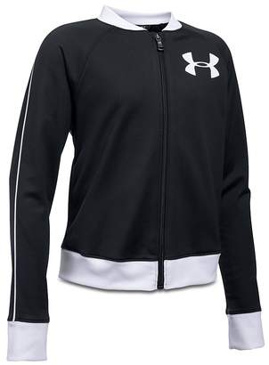Under Armour Girls' Track Jacket - Big Kid