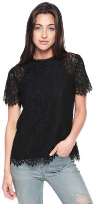 Juicy Couture Floral Lace Top
