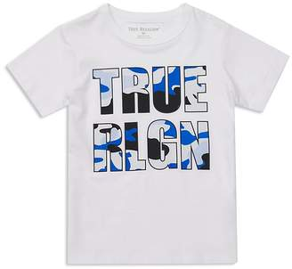 True Religion Boys' Camo Logo Tee - Little Kid, Big Kid
