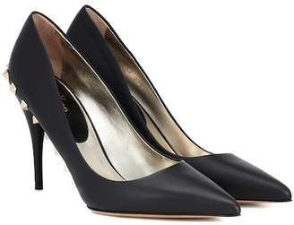 Valentino Jaw Studs 100 leather pumps
