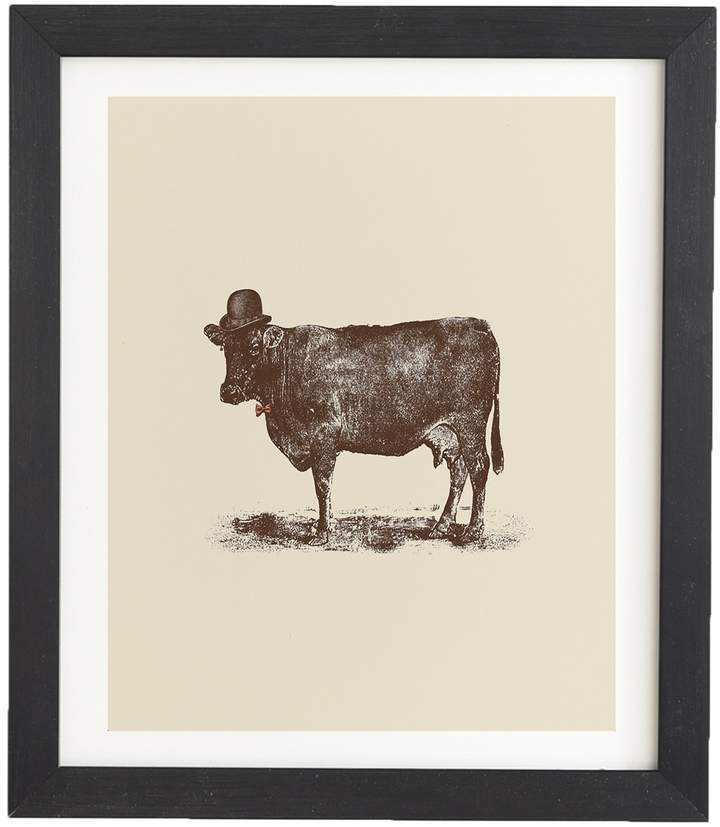 Florent Bodart Cow Cow Nut Framed Wall Art