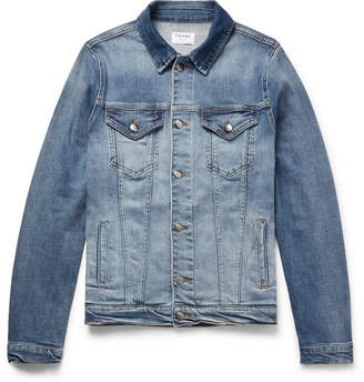 Frame Slim-Fit Stretch-Denim Jacket