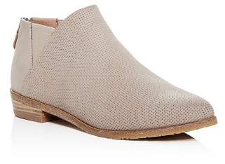Kenneth Cole Gentle Souls by Women's Neptune Chelsea Perforated Nubuck Leather Booties