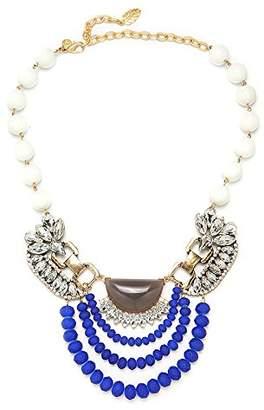 "David Aubrey Clara 17"" Multi Stone Necklace"