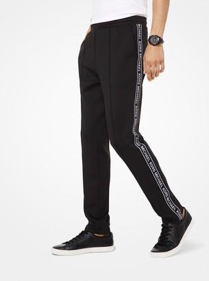 Michael Kors Scuba Logo Tape Track Pants