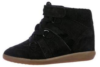 Isabel Marant Lace-Up Wedge Sneakers