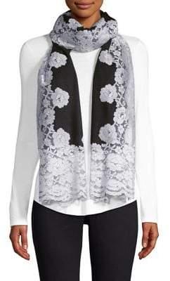 Bindya Cashmere& Silk Evening Lace Shawl