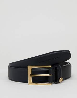 French Connection Button Trim Belt