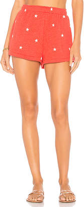 Wildfox Couture Football Star Easy Sweat Short
