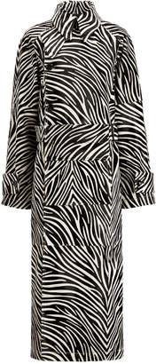 Joseph Stafford Zebra Coat