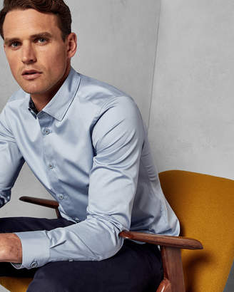 Ted Baker PLATEEN Satin stretch shirt