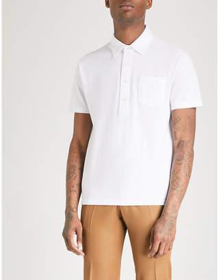 Tiger of Sweden Cotton-piqué polo shirt