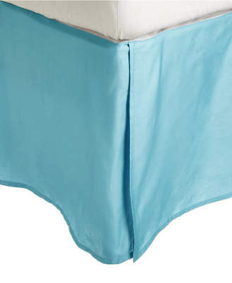 Superior 300 Thread Count Egyptian Cotton Solid Bed Skirt - Queen Bedding