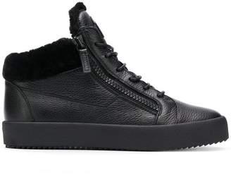 Giuseppe Zanotti Design side zip sneakers