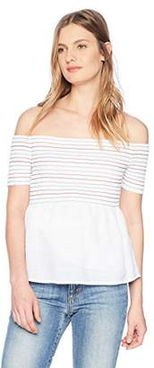 GUESS Women's Off The Shoulder Sunkissed Top