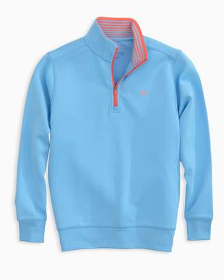 Southern Tide Boys Breakwater Performance 1/4 Zip Pullover