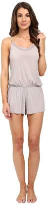 Yummie by Heather Thomson Modern Solutions w/ Lace Trim Hollywood Romper Women's Jumpsuit & Rompers One Piece