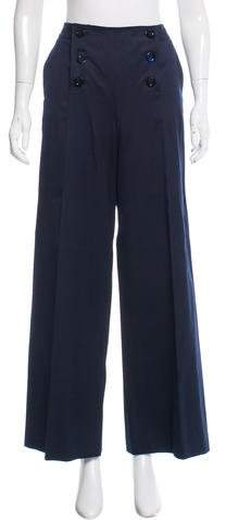 Christian Dior High-Rise Wide-Leg Pants
