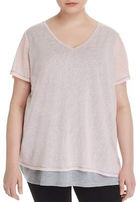 Marc New York Performance Plus Layered-Look Tee