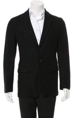 Ann Demeulemeester Felted Three-Button Blazer