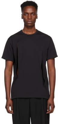 Comme des Garcons Black Cut-Out T-Shirt