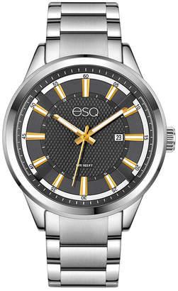 ESQ Men's ESQ0171 Stainless Steel Bracelet Watch, Date Window and Grey Dial