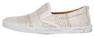 Jimmy Choo Demi Woven Sneakers