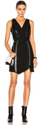 Mugler Manteau Tailleur Dress $2,665 thestylecure.com