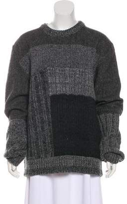 Dolce & Gabbana Chevron Print Wool Sweater w/ Tags
