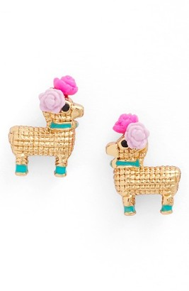 Women's Kate Spade New York Penny The Pinata Stud Earrings $48 thestylecure.com