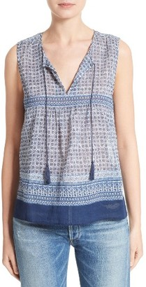 Women's Soft Joie Adralina Cotton Tank $158 thestylecure.com