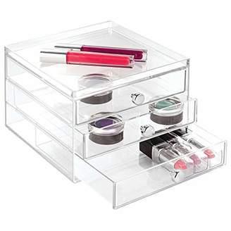InterDesign Office Desk Organizer – Cabinet with 3 Slim Storage Drawers for Highlighters