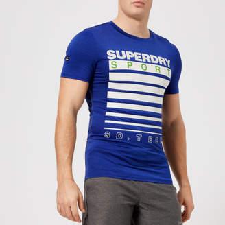 Superdry Sport Men's Athletic Graphic Short Sleeve T-Shirt